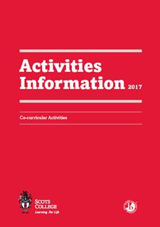 Activities Information 2017