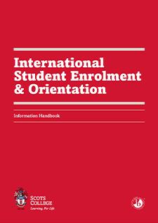 Scots College International Student Enrolment & Orientation Handbook