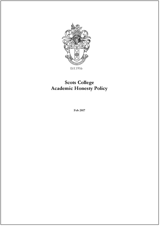 Scots_College_Honesty_Policy